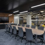 Aftershock Games Workplace featuring products by Haworth and Sit On It, by Unisource Solutions