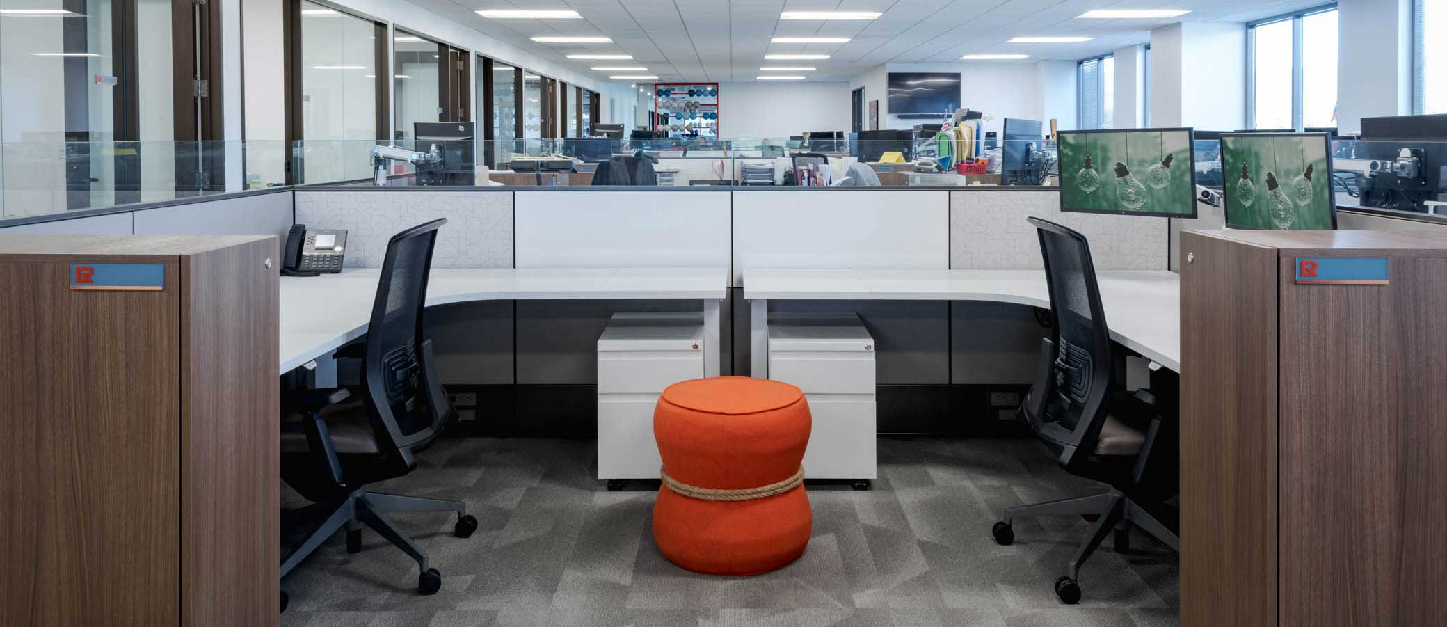 Electro Rent office furniture strategy promotes ergonomics