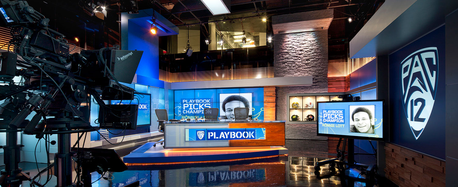 Pac-12 Networks command center by Unisource Solutions