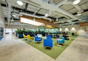 workspace design for biopharmaceutical client