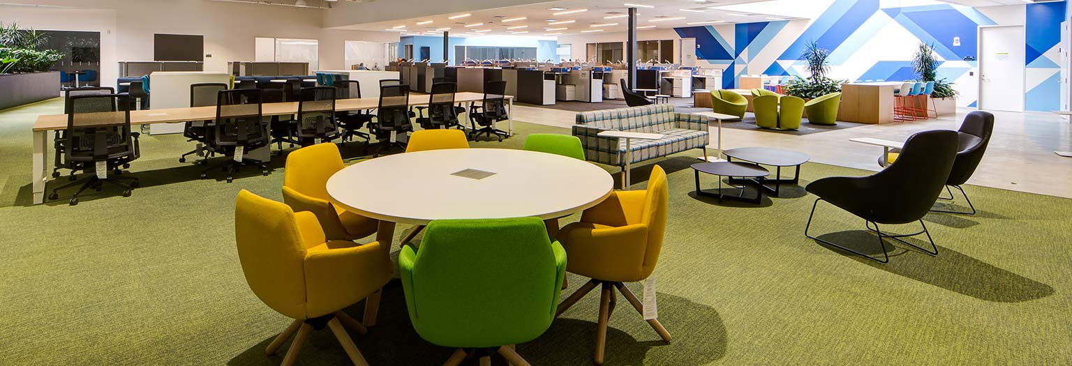 Biopharmaceutical Company Workspace Design by Unisource